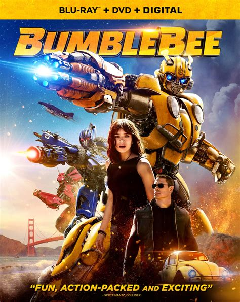 Bumblebee 4K Ultra HD, Blu-ray and DVD release details and