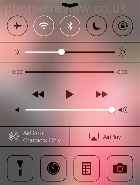 iOS 7 Airdrop features on iPhone 5, not 4S/4