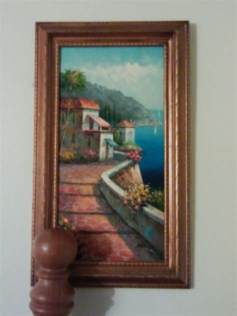 I Have A Pretty Painting Signed Antonio | Artifact Collectors