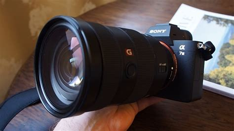 Sony Alpha A7 Mark III - 10fps with lens (Continuous