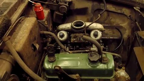 Riley 4/72 1622 Engine with Twin SU Carbs,Complete ready