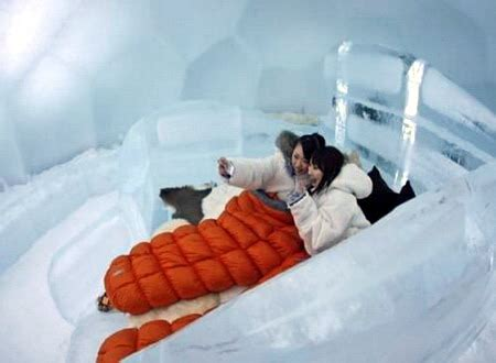 Japan copy Sweden and build their own Ice Hotel | Trailsurfers