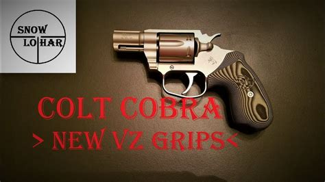 Colt Cobra 2017 - New VZ Grips Are Available