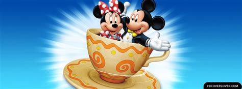 Mickey And Minnie Mouse Facebook Cover - fbCoverLover