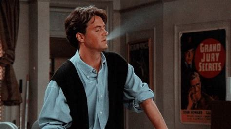 Hollywood Friends Actor Chandler Bing Young Matthew Perry