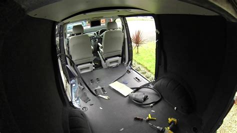 VW T5 Carpet lining, Dvd roof mount, LED lighting and