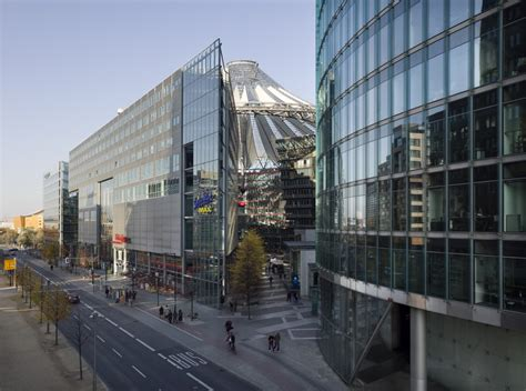 Sony Center Berlin   Architecture Style