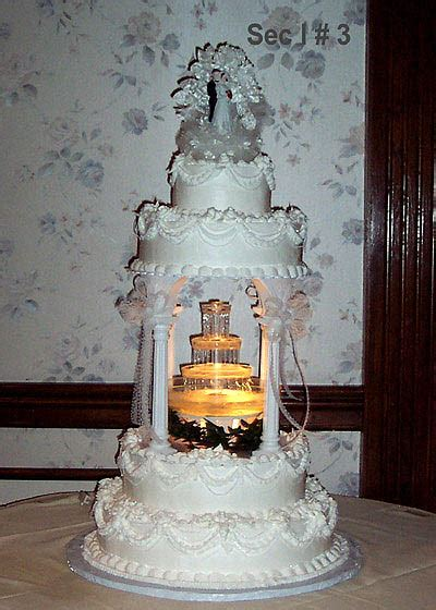 Wedding Cakes With Fountains - We Need Fun