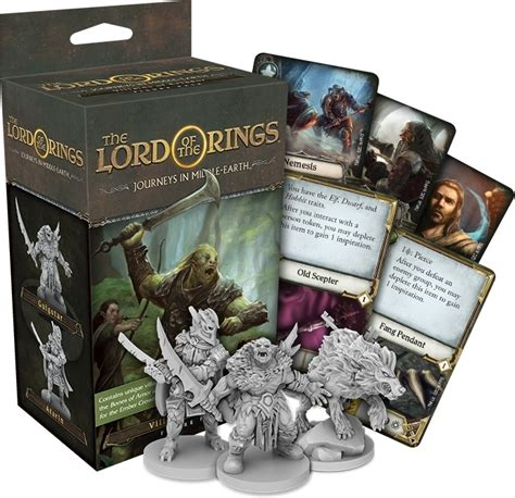 Villains of Eriador Figure Pack Expansion For The Lord of
