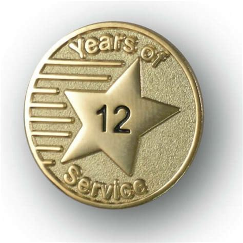 Years of Service Lapel Pin - StockPins