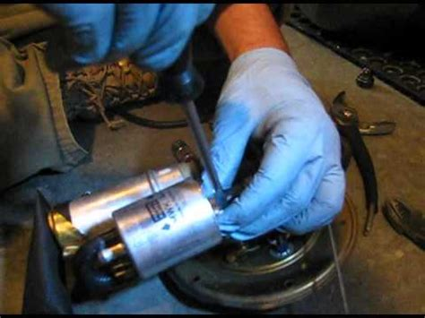 How to Change Fuel Filter & Pump on BMW 1150GS Motorcycle