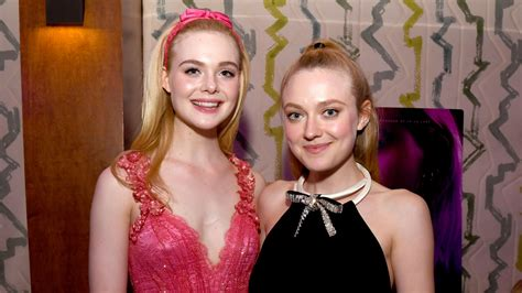 Elle Fanning And Dakota Fanning To Play Sisters For The