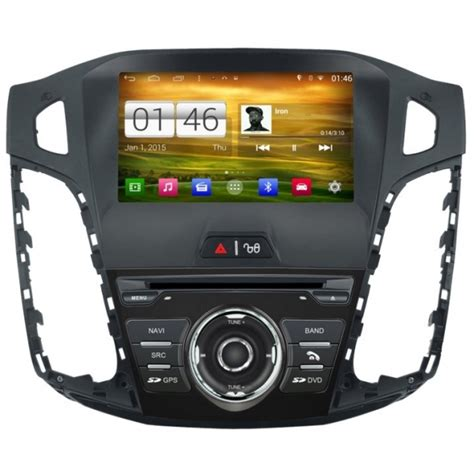 Ford Focus 3 ANDROID 3G WIFI Radios GPS Mirrorlink AirPlay