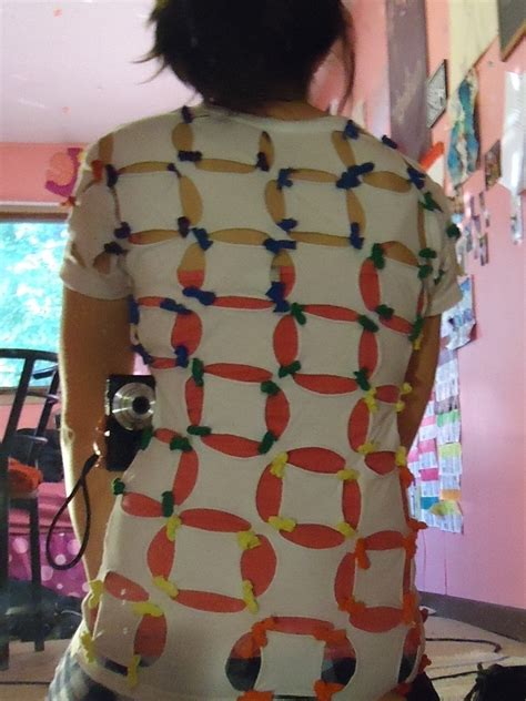 Rainbow Shirt · How To Make A Revamped T Shirt · No-Sew on
