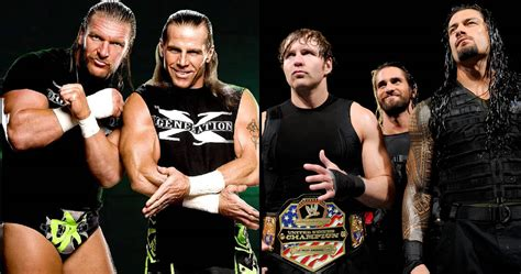 The 8 Best and 8 Worst Wrestling Factions of All Time
