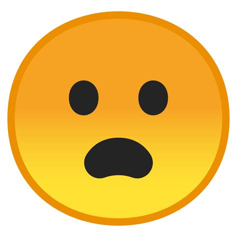 Frowning face with open mouth Icon   Noto Emoji Smileys