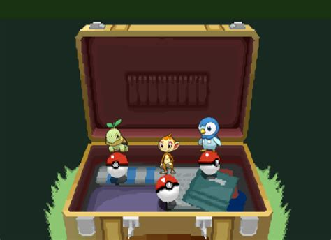 Pokemon Platinum: Choose Your Starter(WIP) by Demigami on