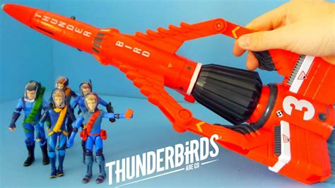 Thunderbirds Are Go Toys Unboxing | Thunderbird 3 and the