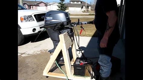 Yamaha 15HP 4 Stroke Outboard with Electric Start - YouTube