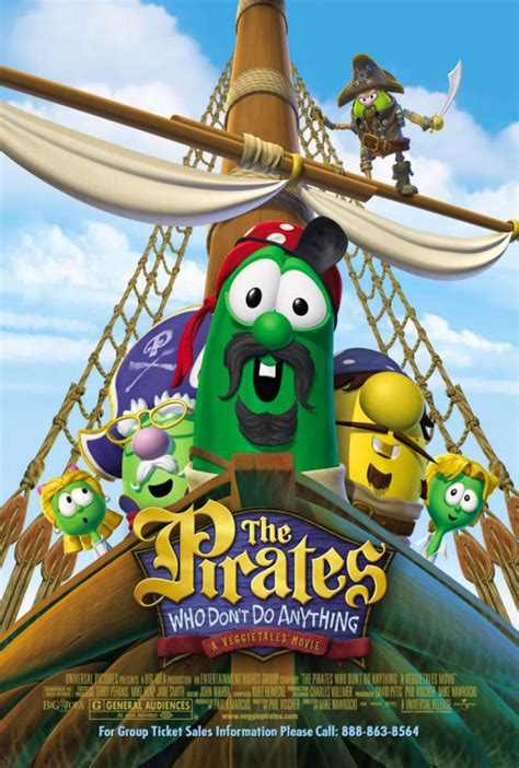 The Pirates Who Don't Do Anything (film) | Big Idea Wiki
